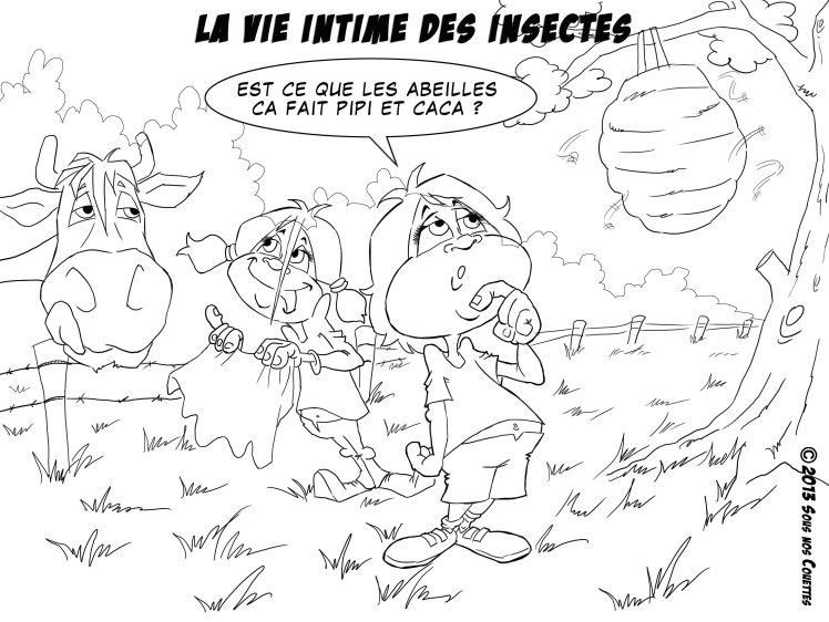 la vie intime des insectes