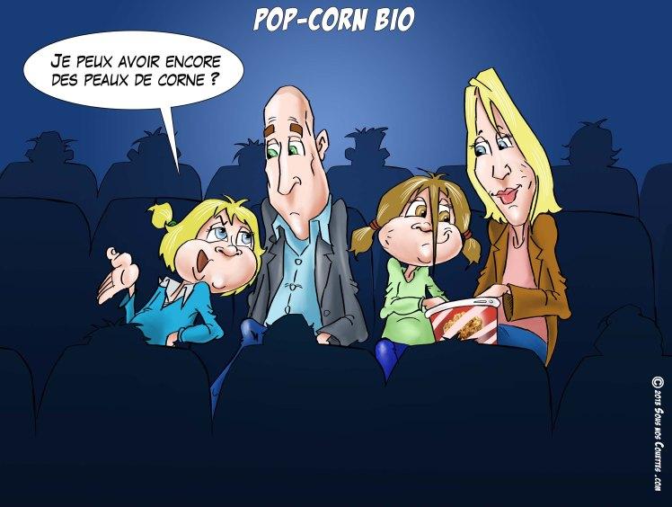pop corn bio