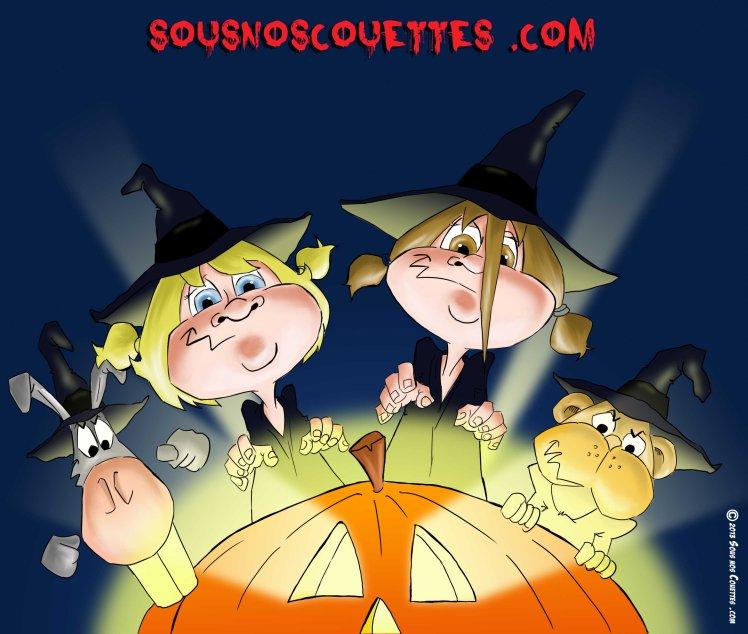 Halloween citrouille FR