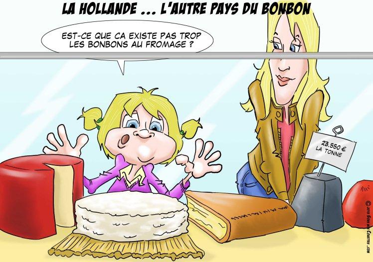 la Hollande l'autre pays du bonbon