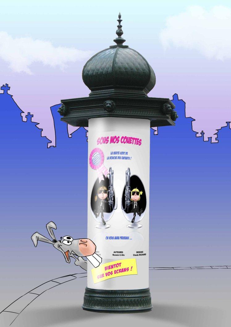affiche colonne BD