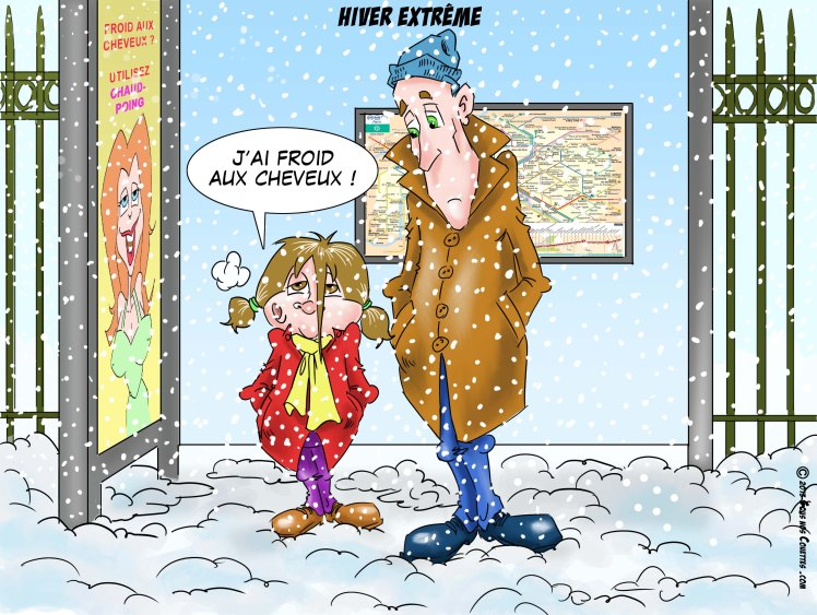 hiver extreme