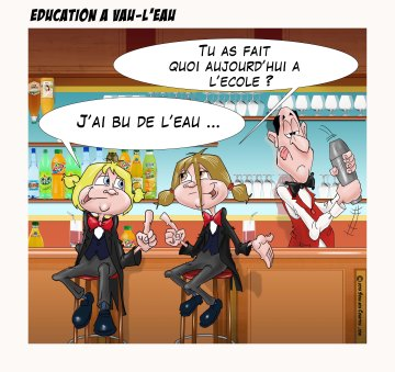 Education à vau-l'eau
