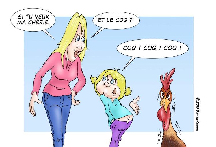cocoricoq pou pou pi poule 2