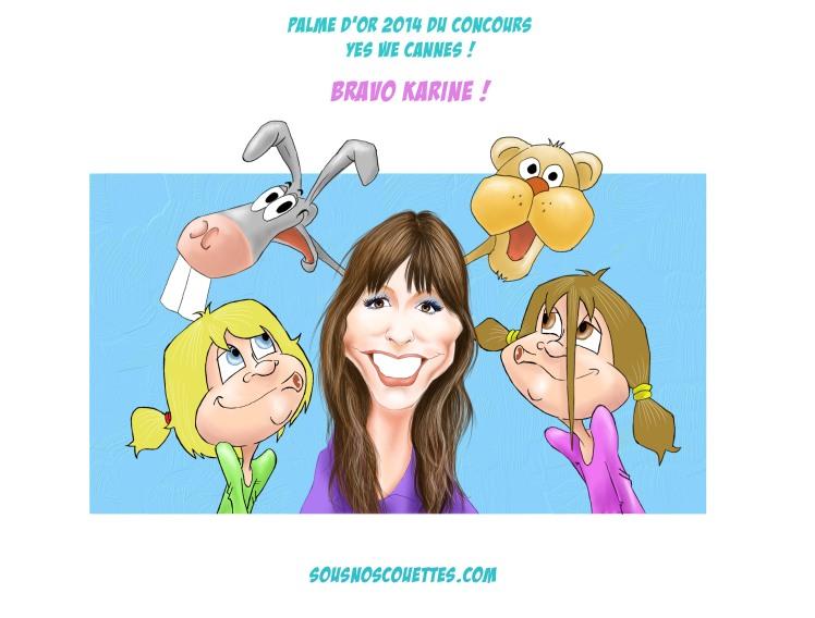 Caricature Karine P