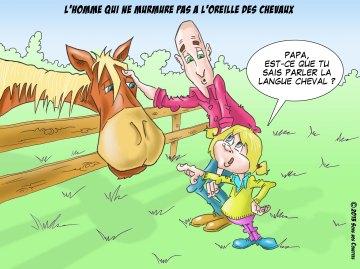 l homme qui ne murmure pas à l'oreille des chevaux esquisse