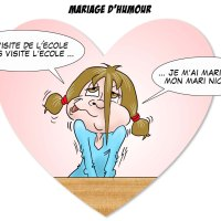 Mariage d'humour