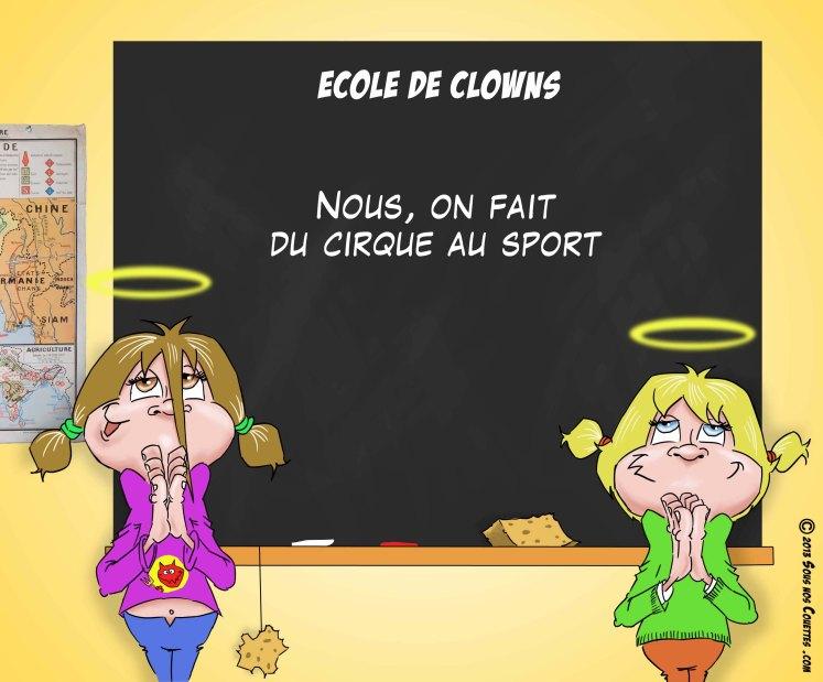 Ecole de clowns