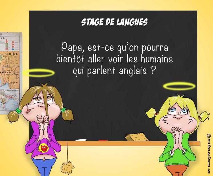 Stage de langues
