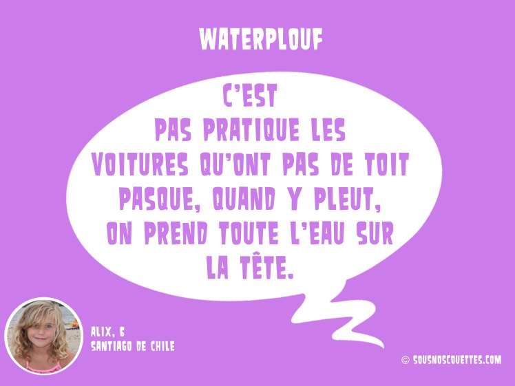 waterplouf